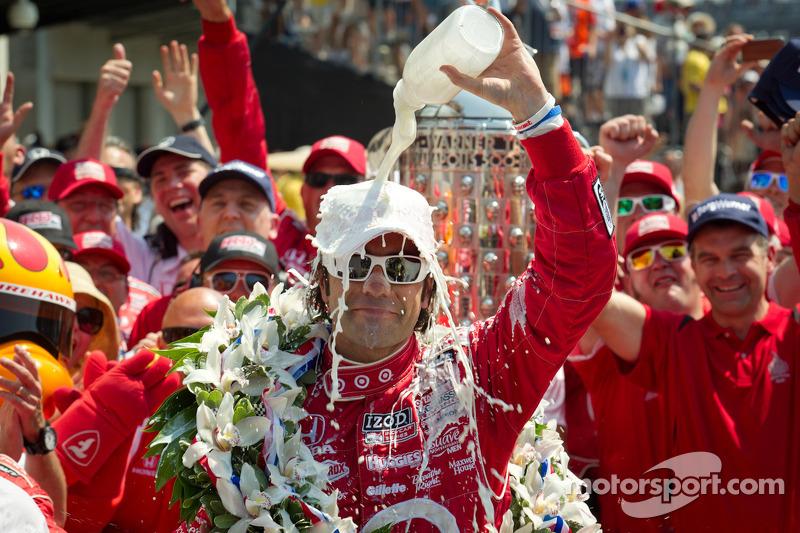 2012 - Dario Franchitti entra para o grupo dos tricampeões da Indy 500