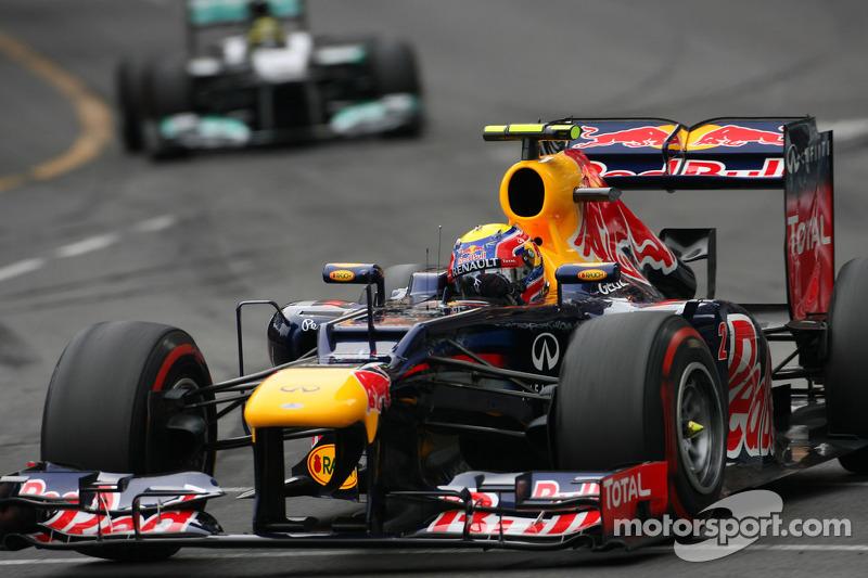GP de Mônaco: Webber