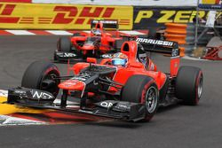 Timo Glock, Marussia F1 Team voor Charles Pic, Marussia F1 Team