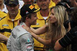 Nico Rosberg, Mercedes GP en vriendin Vivian Sibold