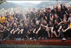 Mark Webber, Red Bull Racing en Christian Horner, Red Bull Racing, Sporting Director en Adrian Newey
