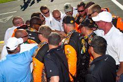 Earnhardt Ganassi Racing crew
