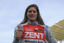 Race winnaar Cyndie Allemann