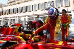 Фабио Ляймер. Монако, пятница, перед гонкой.