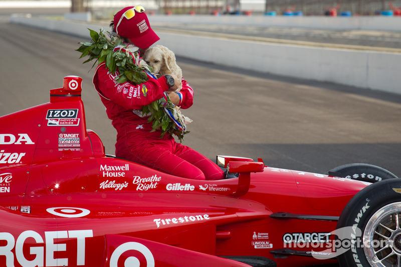 Ganador de la edición de 2012: Dario Franchitti, Dallara/Honda