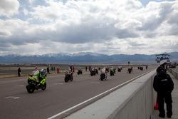 SportBike Race Start