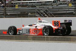 Tribute to Dan Wheldon driven by Bryan Herta