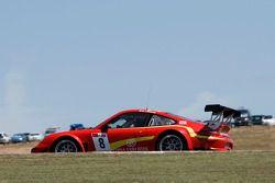 #8 Exim Bank Team China Porsche 911 GT3R: Benjamin Lariche, Ren Wei