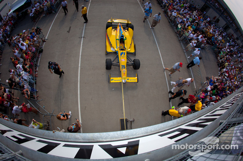 Car of Ana Beatriz, Andretti Autosport/Conquest Racing Chevrolet