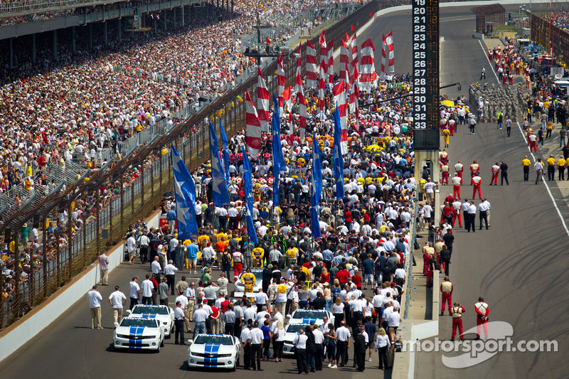 image regarding Printable Indy 500 Starting Grid titled Commencing grid environment at Indy 500 Significant-Res Experienced