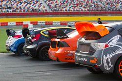 Global Rallycross wagens klaar