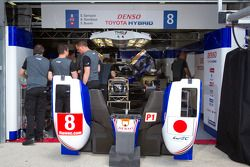 Toyota Racing pits
