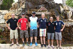 Rijders bezoeken Zoomarine, Tom Coronel, BMW 320 TC, ROAL Motorsport, Yvan Muller, Chevrolet Cruze 1