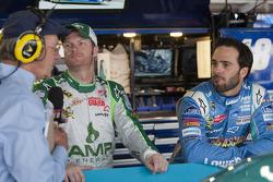 Jimmie Johnson, Hendrick Motorsports Chevrolet et Dale Earnhardt Jr., Hendrick Motorsports Chevrolet