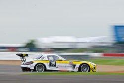 #19 Black Falcon Mercedes-Benz SLS AMG GT3: Riccardo Brutschin, Oliver Murley, Jerome Thiry