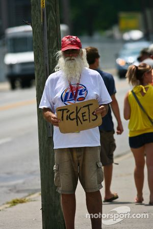 He needs tickets
