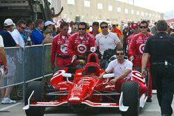 Dario Franchitti's car
