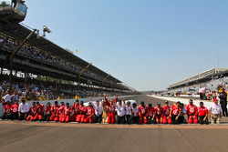 Winner Dario Franchitti, Target Chip Ganassi Racing Honda