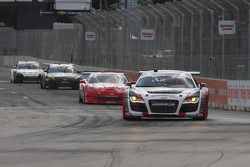 #51 APR Motorsport Audi R8 Grand-Am: Jim Norman, Dion von Moltke #31 Marsh Racing Corvette: Boris Said, Eric Curran #70 SpeedSource Mazda RX-8: Sylvain Tremblay, Jonathan Bomarito