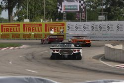 #99 Bob Stallings Racing Corvette DP: Jon Fogarty, Alex Gurney #10 Sun Trust Racing Corvette DP: Max