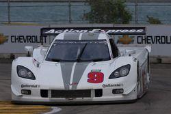 #9 Action Express Racing Corvette DP: Joao Barbosa, Darren Law, J.C. France