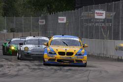 #94 Turner Motorsport BMW M3: Ben Clucas, Paul Dalla Lana, Billy Johnson #44 Magnus Racing Porsche G