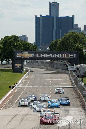 DP race start