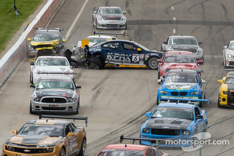 Start: trouble for Randy Pobst