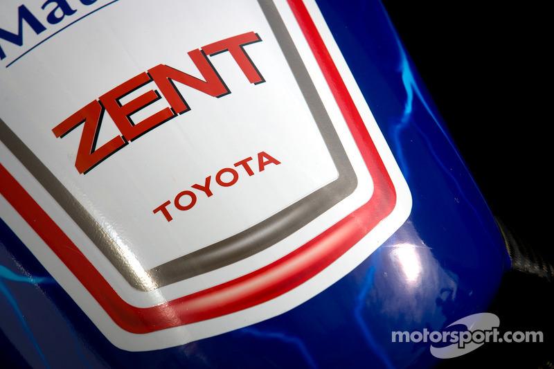 #7 Toyota Racing Toyota TS 030 - Hybrid car detail