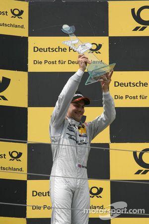 Podium, 3de Gary Paffett, Team HWA AMG Mercedes, AMG Mercedes C-Coupe