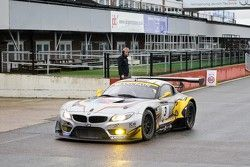 Winners #3 Marc VDS Racing Team BMW Z4 GT3: Markus Palttala, Bas Leinders, Maxime Martin