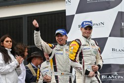 Podium: winners Markus Palttala and Bas Leinders