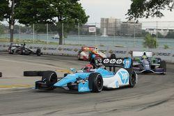 Simon Pagenaud, Schmidt-Hamilton Motorsports, Tony Kanaan, KV Racing Technology Chevrolet, Ryan Bris