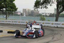 Marco Andretti, Andretti Autosport Chevrolet y J.R. Hildebrand, Panther Racing Chevrolet
