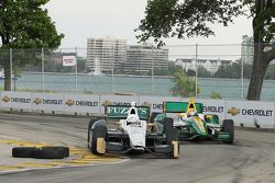 Ed Carpenter, Ed Carpenter Racing Chevrolet y Simona De Silvestro, Lotus-HVM Racing