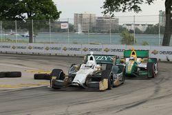 Ed Carpenter, Ed Carpenter Racing Chevrolet, Simona De Silvestro, Lotus-HVM Racing