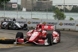 Scott Dixon, de Target Chip Ganassi Honda y Dario Franchitti, de Target Chip Ganassi Honda