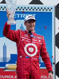 Race winner Scott Dixon