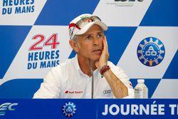 Post-test day press conference: Rinaldo Capello
