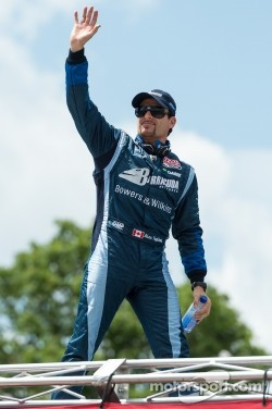 Alex Tagliani at the Detroit IndyCar race on Belle Isle in June, 2012