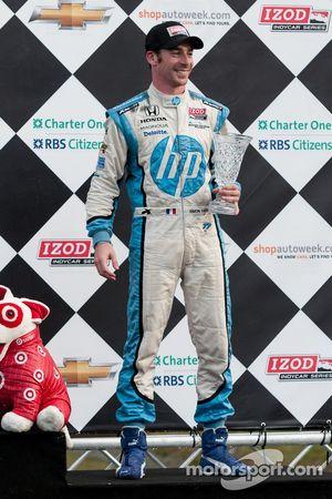 Third place Simon Pagenaud