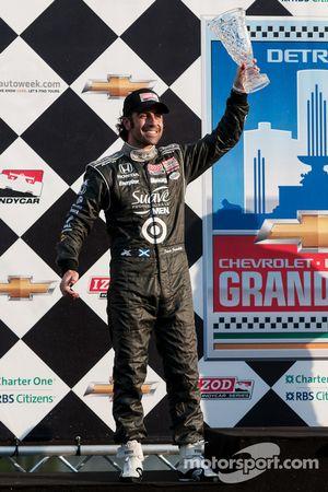 El segundo lugar Dario Franchitti