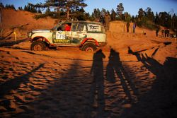 TR2 Toyota Land Cruiser in de Dune Race