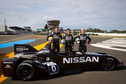 Nissan photoshoot: #0 Highcroft Racing Delta Wing Nissan: Marino Franchitti, Michael Krumm, Satoshi