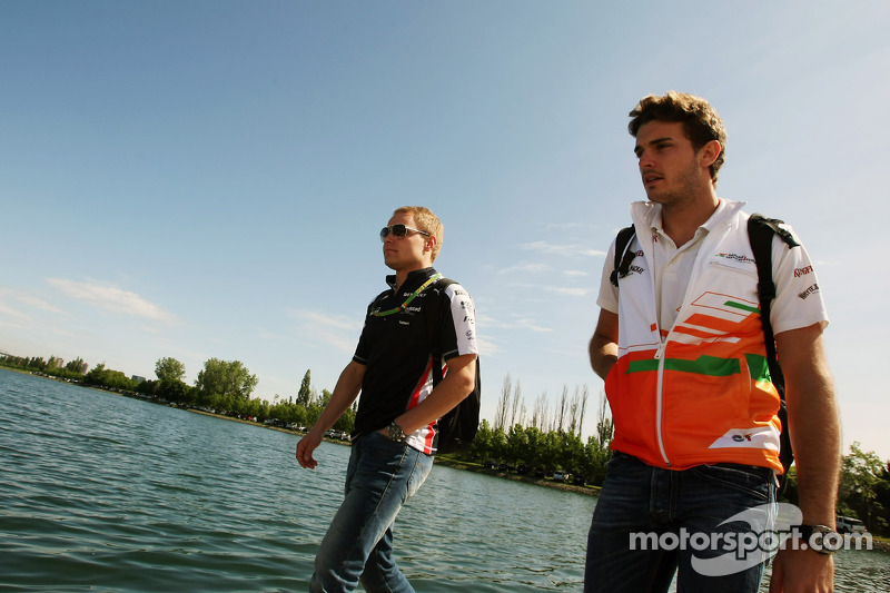 Valtteri Bottas, Williams F1 Team Üçüncü Pilotu ve Jules Bianchi, Sahara Force India F1 Team Üçüncü