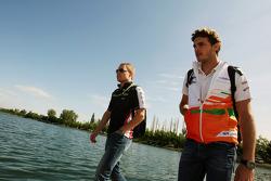 Valtteri Bottas, Williams F1 Team derde rijder met Jules Bianchi, Sahara Force India F1 Team derde rijder
