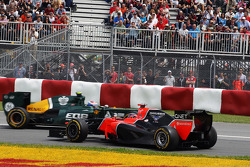 Timo Glock, Marussia F1 Team spin in bocht twee