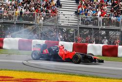 Timo Glock, Marussia F1 Team herstelt van spin