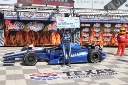 El ganador de la pole Alex Tagliani, Bryan Herta Autosport w/Curb-Agajanian Honda