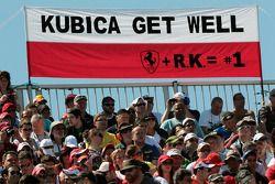 Spandoek Robert Kubica